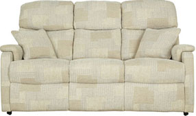 Hertford-3 (3 Seater Settee - Fabric)